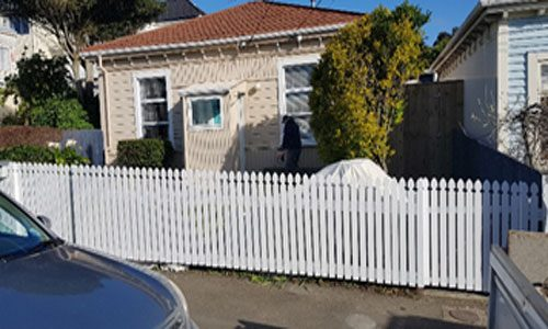 Newtown picket fence